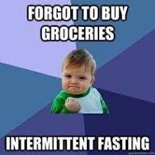 Fasting Meme - intermittent fasting meme keto memes pinterest intermittent