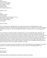 estate manager cover letter free cover letter template 50 free