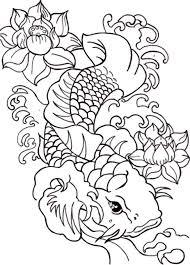 symbol prosperity fish colouring colouring tube