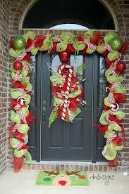 bright ideas christmas decorations for doors impressive door