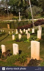 cemetery headstones sri lanka kandy war cemetery headstones and memorial stock