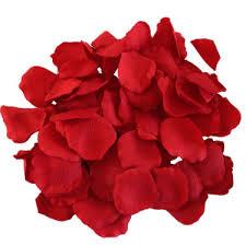 silk petals using petals afloral wedding