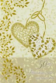 poeme 50 ans de mariage noces d or vente en ligne cartes de mariage carte anniversaire de mariage