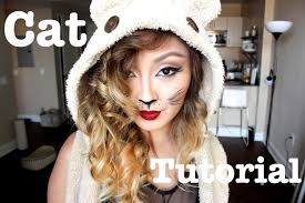 Halloween Party Makeup Last Minute Halloween Party Cat Makeup Youtube