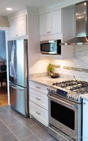 Pictures Of Remodeled Kitchens by Best 20 Microwave Shelf Ideas On Pinterest Open Kitchen