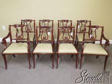 mahogany dining room chairs ebay