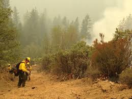 Wildfires California September 2015 by Update On Delaware Forest Service Wildfire Crew In California