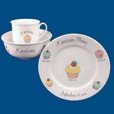 personalized dinnerware personalized gifts baby gifts dish set