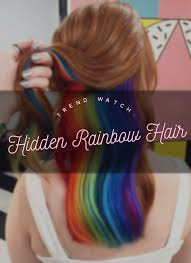 www hairsnips com old trend watch hidden rainbow hair holleewoodhair