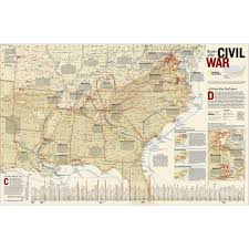 Pre Civil War Map Of United States by Unique Gift Ideas For History Buffs National Geographic Store