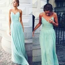 flowy bridesmaid dresses green flowy chiffon bridesmaid dresses spaghtti straps a line
