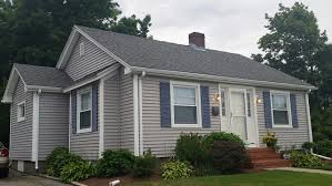 seaside ranch gets new vinyl siding in somerset ma contractor