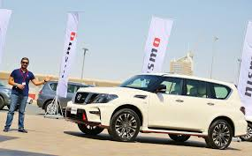nissan patrol nismo 2016 first preview of the 2017 nissan patrol nismo in dubai أول ظهور