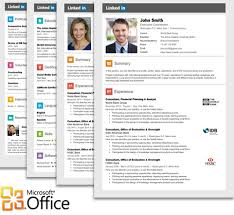 linkedin resume template for microsoft word office our creative