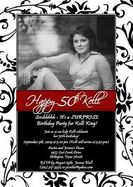 template 50th birthday invitation template 50th birthday party