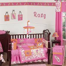 Pink And Brown Curtains For Nursery by Baby Nursery Bedroom Decorations Beautiful Bedding Sets For Baby