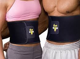 belly wrap idofit neoprene adjustable waist trimmer ab belt sauna belt weight l