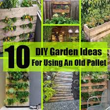 Pallets Garden Ideas 10 Diy Garden Ideas For Using An Pallet Diy Home Things