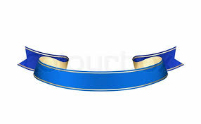 blue ribbon isolated on a white background stock photo colourbox