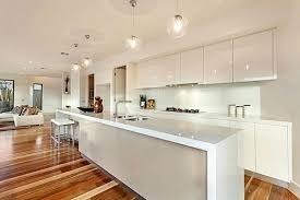 White Kitchen Pendant Lighting White Modern Kitchens A Stylish Contemporary White Kitchen