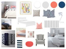 Navy Bedroom Grey Navy And Coral Master Bedroom Our New Home Pinterest