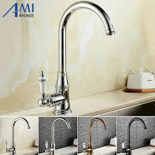 kitchen faucet brass kitchen faucet 360 swivel basin faucet brass cold mixer sink tap