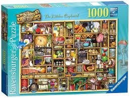 ravenburger the curious cupboard the kitchen cupboard 1000 piece