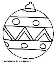 28 dessins de coloriage boule de noel à imprimer