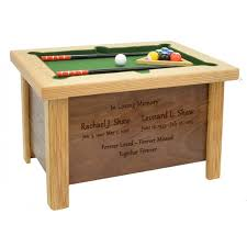 Urn Table L Pool Billiards Cremation Urn In The Light Urns