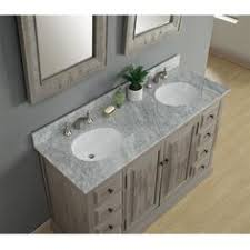 60 Inch Bathroom Vanity Double Sink by Charleston 60