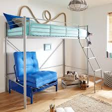 High Sleeper Bed With Futon High Sleeper Bunk Bed With Double Futon Sofas Furniture