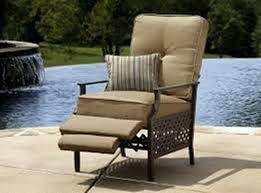 Reclining Patio Chair Wicker Reclining Patio Chair Gdimagazine