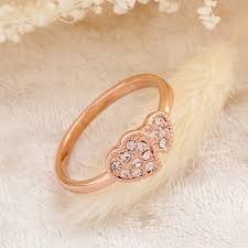 day rings hear ring for s day gift gold ring bijoux bagues
