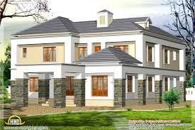 western house designs awesome western model house plan kerala home