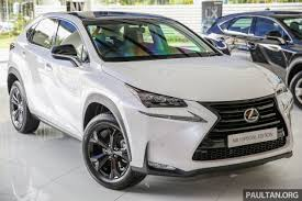 lexus suv malaysia lexus nx 200t range updated for my2017 special edition with