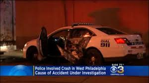 authorities investigating police involved crash in west