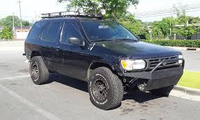 nissan pathfinder front bumper beater dd r50 pathfinder gotta find some trails new people