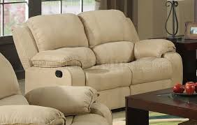 Microfiber Reclining Sofa Reclining Sofa In Microfiber W Options