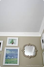 sherwin williams light gray colors family room in analytical gray from thrifty decor
