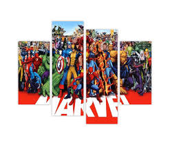 extra large canvas prints wall art marvel superheroes hulk