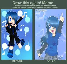 meme before and after singinng is my dream by alexa blue sky on
