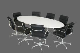 Oval Boardroom Table Oval Shaped Boardroom Table With Brushed Metal Legs Office