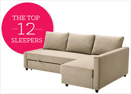 Ikea Futon Sofa Bed 12 Affordable And Chic Sleeper Sofas For Small Living Spaces