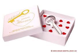 hochzeitstag geschenke schlüssel zu meinem herzen mit wunschgravur als romantisches
