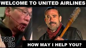 Top Ten Funniest Memes - top 10 united airlines funniest memes youtube