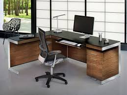 L Shape Executive Desk Collection In Modern L Shaped Computer Desk 17 Best Ideas About In