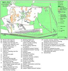 Map Of Concentration Camps In Germany by Belzec Death Camp Www Holocaustresearchproject Org