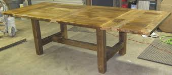Dining Room Table Leaf - dining table best reclaimed wood dining table drop leaf dining