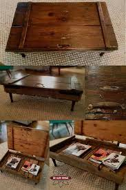 Classic Ideas For Pallet Wood by Best 25 Diy Storage Coffee Table Ideas On Pinterest Pallett