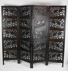 screen room divider hand carved decorative indian elephant room dividers screens